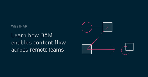 How DAM enables content flow across remote teams